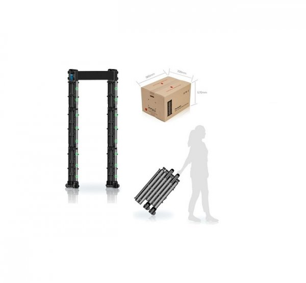 Portable-walk-through-metal-detector DSN